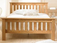 Bestpricebeds Hampstead Solid Oak Bed Frame