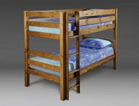Bestpricebeds Heavy Duty Contract wooden Bunk Bed
