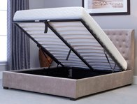 Bestpricebeds Kennington Wing Ottoman Bed Frame