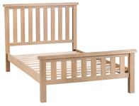 BestPriceBeds Loughton Oak Veneer Bed Frame