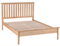 BestPriceBeds Norton Oak Veneer Bed Frame