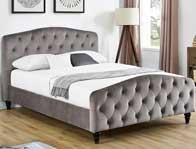 Bestpricebeds Sandra Fabric Bed Frame