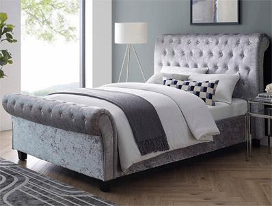 Bestpricebeds Serene Fabric Bed Frame