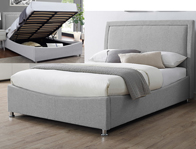 BestpriceBeds Zuse Fabric Storage Bed Frame