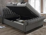 Birlea Castello Grey Colour Side Open Ottoman Bed frame
