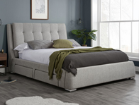 Birlea Mayfair Fabric Bed Frame