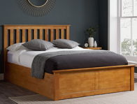 Birlea Phoenix Oak Colour Wood Ottoman Bed Frame
