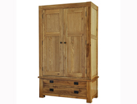 Boston  Gents 2 Drawer Wardrobe