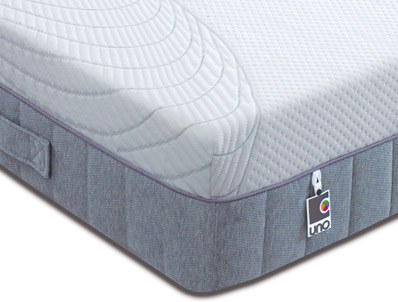 Breasley Uno 2000 Pocket & Memory Mattress