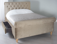 Cadot Gallia Storage Fabric Bed Frame