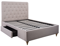 Cadot Rosa Fabric Bed Frame Discontinued