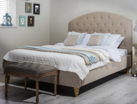 Cadot Sophia Fabric Bed Frame