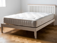 Dreamworks Banbury Acacia Ivory Painted Bed Frame With 1 Free or Bogof Bedside Cabinet offer