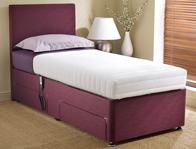 Dreamworks Memory Adjustable Bed - Deep Base