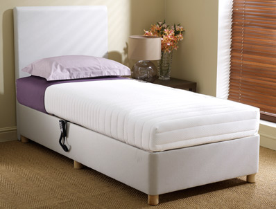 Dreamworks Memory Adjustable Bed - Shallow Base