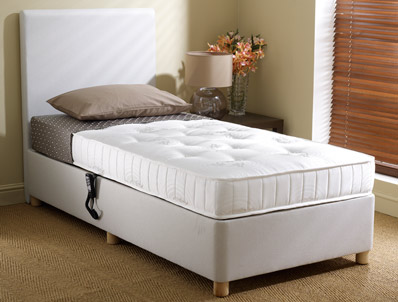 Dreamworks Pocket Wool Adjustable Bed - Shallow Base