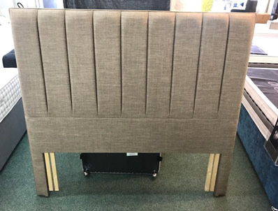 Dunlopillo Ex Display Noble Floor Standing Headboard in Flynn colour