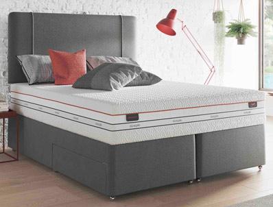 Dunlopillo Go Exceed 27 Divan Bed