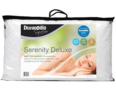 Dunlopillo Serenity Deluxe 100% Natural Latex Pillow