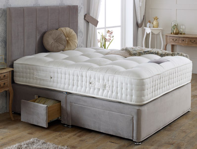 Dura Beds Royal Crown Natural 3000 Pocket Bed