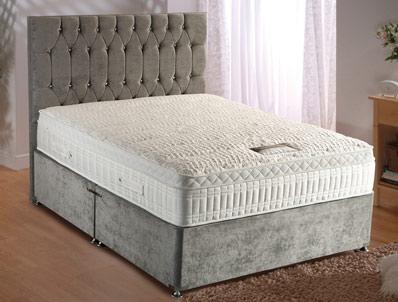 Dura Beds Silver Active 2800 Pocket Divan Bed