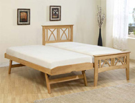 Ecofurn Meadow Guest Bed Frame Only