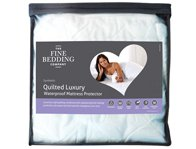 Fine Bedding Company Complete Comfort Quilted Waterproof Mattress Cover