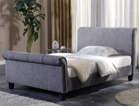 Flintshire Brynford Double Size Sleigh Bed Frame Discontinued