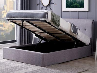 Flintshire Carmel Fabric Ottoman Bed Frame