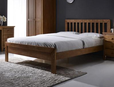 Flintshire Drury Small Double Hardwood Bed Frame