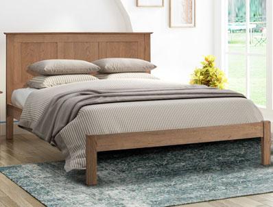 Flintshire Furniture Conway Smoked Oak Bed Frame