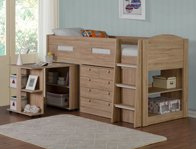 Flintshire Furniture Frankie Wood Colour  Cabin Bed