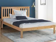 Flintshire Furniture Glynne Light Oak Bed Frame