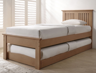 Flintshire Furniture Halcyon Solid Oak Guest Bed