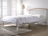Flintshire Furniture Leeswood Painted Grey Bed Frame