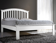 Flintshire Furniture Leeswood Painted White Bed Frame Discontinued