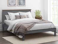 Flintshire Furniture Padeswood Oak Finish Bed Discontinued Frame