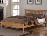 Flintshire Furniture Pentre Oak Finish Bed Frame