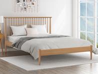 Flintshire Grosvenor Solid Oak Bed Frame