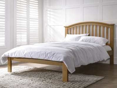 Flintshire Leeswood Wooden Bed Frame Discontinued