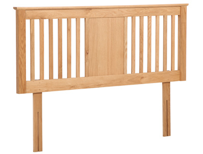 Flintshire Northop Solid Oak Headboard