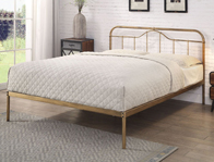 Flintshire Oakenholt Antique Bronze Metal Bed Frame