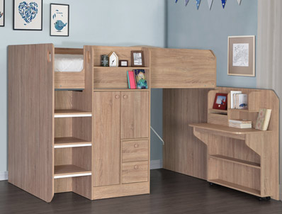 Flintshire Taylor Hi Sleeper Bunk
