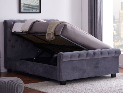 Flintshire Whitford Fabric Ottoman Bed Frame