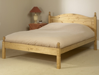 Friendship Mill Orlando Pine Bed Frame