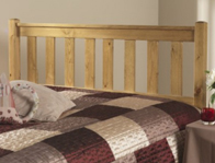 Friendship Mill Shaker Design Pine Headboard