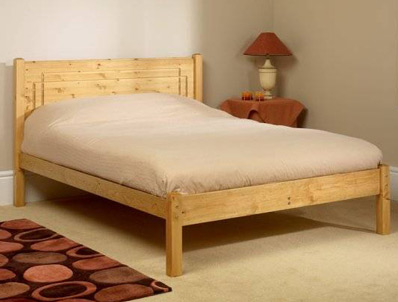 Friendship Mill Vegas Pine Bed Frame