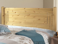 Friendship Mill Vegas Pine Headboard