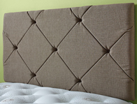 Gainsborough Atlas Fabric Headboard On Legs