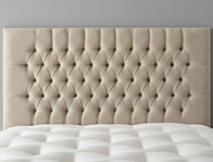 Gainsborough Serene Buttoned Headboard on legs